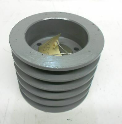 "5 Groove Pulley Sheave, 4-15/16"" Od, 2"" Bore"