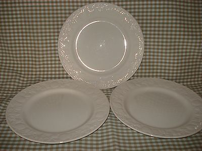 Bhs/ Barratts~LINCOLN~DINNER  PLATES x 3