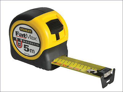 STanley 0-33-864 Fatmax MagnetiC Tip 5m Metric Tape Measure