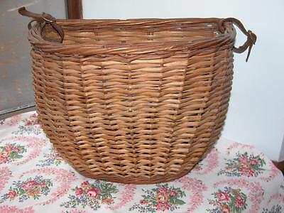 Vintage French Wicker Bicycle ?? Shopping Basket