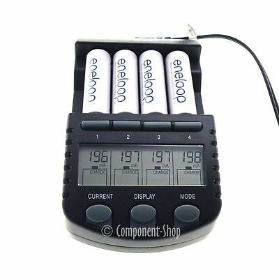 BC-700 Technoline Intelligent AA/ AAA battery charger (2in1 EU + UK Plugs)