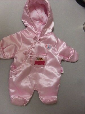 Zapf Creations Baby Born Dolls Pink Snow Suit