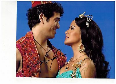 ADAM JACOBS--ALADDIN ON BROADWAY Signed Photo 8x10--#9  PROOF