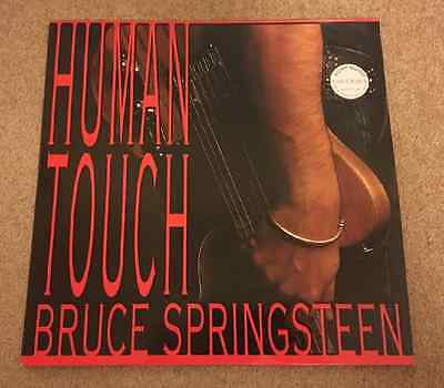 BRUCE SPRINGSTEEN Human Touch 1992 UK Vinyl LP + INNER EXCELLENT CONDITION