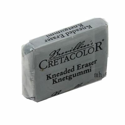 Artists Brevillier's Creatacolor Kneaded Eraser putty rubber grey watercolour