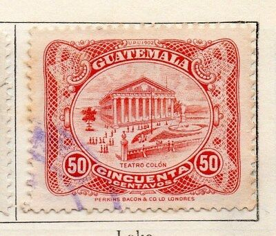Guatemala 1925 Early Issue Fine Used 50c. 108098