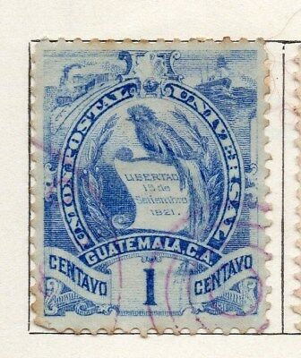 Guatemala 1886-94 Early Issue Fine Used 1c. 107924