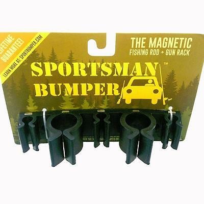 Magnetic Sportman Bumper - fishing rod & gun holder for your vehicle
