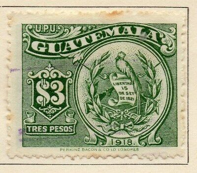Guatemala 1919 Early Issue Fine Used $3. 108014