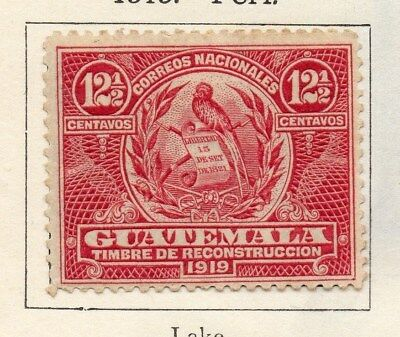 Guatemala 1919 Early Issue Fine Mint Hinged 12.5c. 108015