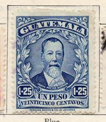 Guatemala 1925 Early Issue Fine Used 1.25P. 108051