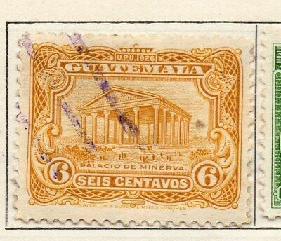 Guatemala 1925 Early Issue Fine Used 6c. 108055