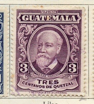 Guatemala 1929 Early Issue Fine Used 3c. 108071