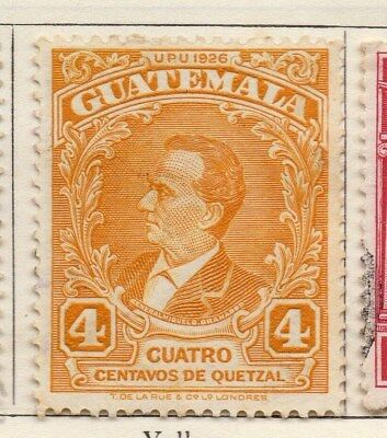 Guatemala 1929 Early Issue Fine Mint Hinged 4c. 108072