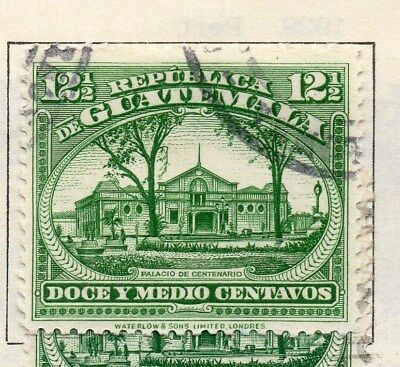 Guatemala 1924 Early Issue Fine Used 12.5c. 108091
