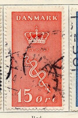 Denmark 1929 Early Issue Fine Used 15ore. 106647