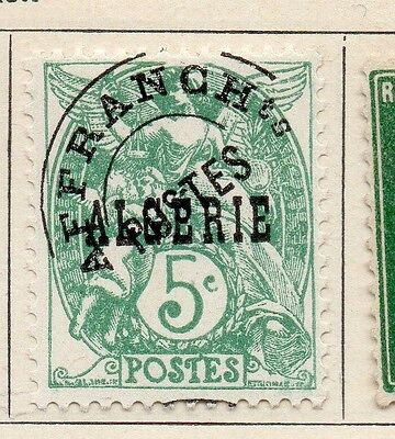 Algeria 1924-26 Early Issue Fine Used 5c. Optd 106846