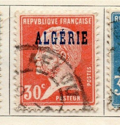 Algeria 1924-26 Early Issue Fine Used 30c. Optd 106854