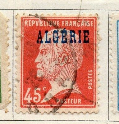 Algeria 1924-26 Early Issue Fine Used 45c. Optd 106857