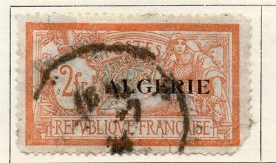 Algeria 1924-26 Early Issue Fine Used 2F. Optd 106867
