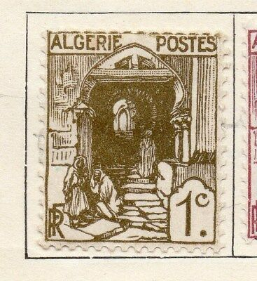 Algeria 1926-27 Early Issue Fine Mint Hinged 1c. 106869