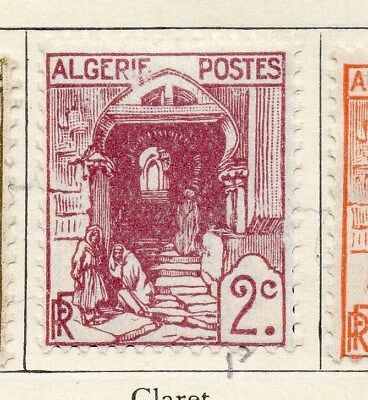 Algeria 1926-27 Early Issue Fine Mint Hinged 2c. 106870