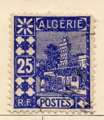 Algeria 1926-27 Early Issue Fine Used 25c. 106877