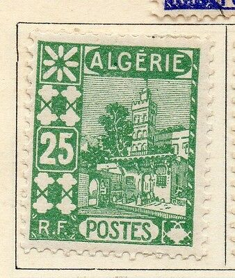 Algeria 1926-27 Early Issue Fine Mint Hinged 25c. 106878