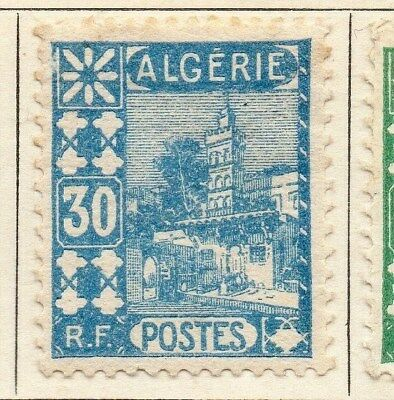Algeria 1926-27 Early Issue Fine Mint Hinged 30c. 106880