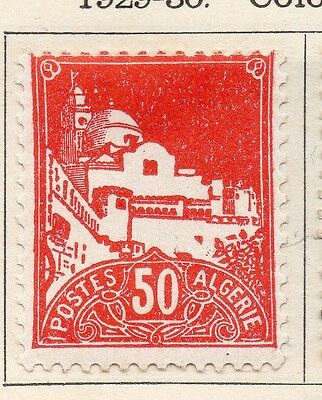 Algeria 1929-30 Early Issue Fine Mint Hinged 50c. 106904
