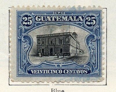 Guatemala 1911 Early Issue Fine Used 25c. 106917