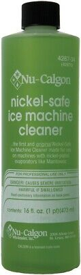 Nu-Calgon 4287-34 Nickel Safe Ice Machine Cleaner 16oz