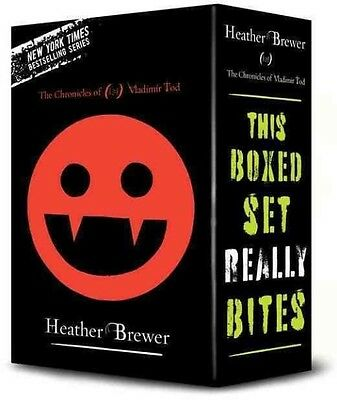 The Chronicles of Vladimir Tod Boxed Set by Heather Brewer Boxed Set Book (Engli