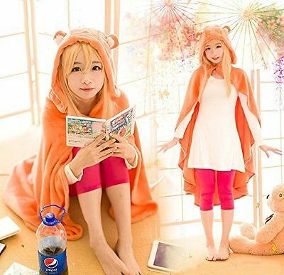 Himouto Umaru-chan Cosplay Cloak Hoodies Flannel Coat Daily Blanket Anime New