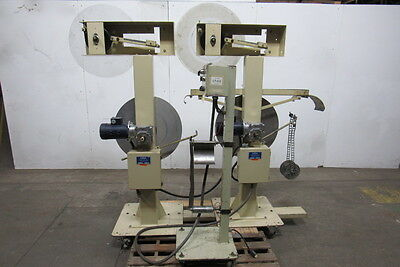 Coiltek CR 352 Dual Station Winder Coiler With Controls Tested