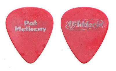 Pat Metheny Concert-Used Red Tour Guitar Pick #1