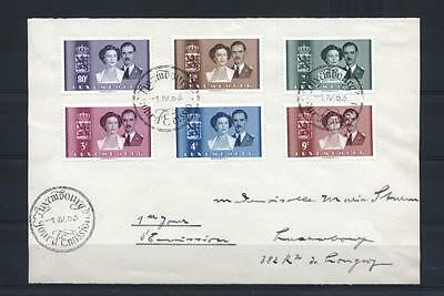 (933997) Royalty, Luxembourg - front of letter only -