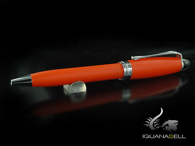 Aurora Ipsilon Ballpoint pen, Resin, Chrome trim, Orange, B30-OP
