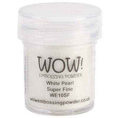 White Pearl - WOW! Embossing Powder Super Fine 15ml