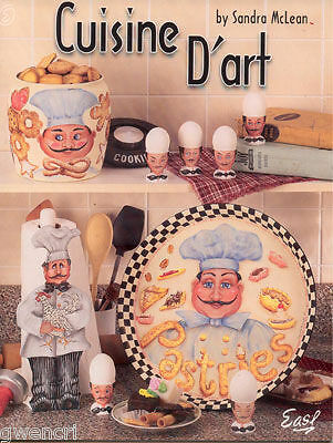Painting  Book - Cuisine D'art