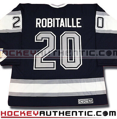 Luc Robitaille Los Angeles Kings Vintage Jersey 1993 Ccm Black