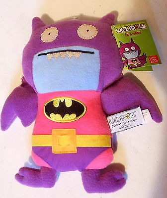 "DC Comics Ugly Doll Ice-Bat as Batman Plush Toy 11"" Gund New with Tags (2013)"