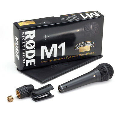 Rode M1 Dynamic Live Vocal Stage Microphone