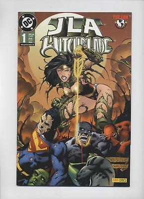 Dc Crossover # 1 - Jla / Witchblade - Panini 2001 - Top