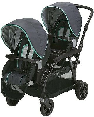Graco Baby Modes Duo Twin Tandem Double Stroller Basin NEW AUTH DEALER