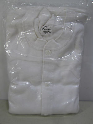 Retro Penneys White Large Cotton Union Suit in Original Package #1