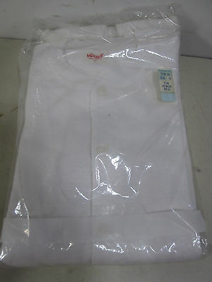 Retro Montgomery Wards White Cotton Union Suit in Original Package