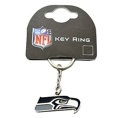 Seattle Seahawks Official NFL American Football Crest Keyring