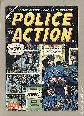 Police Action (1954 Atlas) #7 GD- 1.8