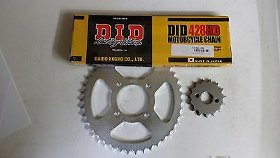 Honda CBR125 R 2005 DID Heavy Duty Chain and Sprocket Kit